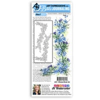 Art Impressions - Bible Journaling Collection - Clear Photopolymer Stamps - Blossom Border