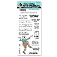Art Impressions - Laugh Lines Collection - Clear Photopolymer Stamps - Dance It Out