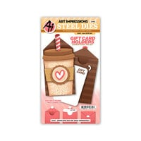 Art Impressions - Stamp and Die Set - Java Gift Card Holder