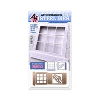 Art Impressions - Windows to the World Collection - Stamp and Die Set - Shadowbox Window