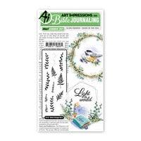 Art Impressions - Bible Journaling Collection - Unmounted Rubber Stamp Set - Bible Foliage Set 2