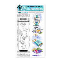 Art Impressions - Bible Journaling Collection - Clear Photopolymer Stamps - Bible Icons Set 1