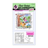 Art Impressions - Windows to the World Collection - Stamp and Die Set - Swing Window