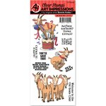 Art Impressions - Funny Farm Collection - Unmounted Rubber Stamp Set - Old Goat
