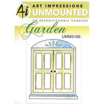Art Impressions - Windows to the World Collection - Unmounted Rubber Stamp Set - Window