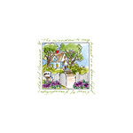 Art Impressions - Windows to the World Collection - Unmounted Rubber Stamp Set - Cottage