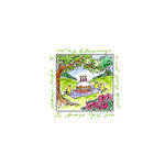 Art Impressions - Windows to the World Collection - Unmounted Rubber Stamp Set - Birthday Picnic