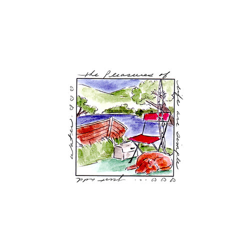 Art Impressions - Windows to the World Collection - Unmounted Rubber Stamp Set - Pleasures Window
