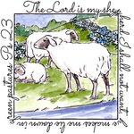 Art Impressions - Windows to the World Collection - Unmounted Rubber Stamp Set - Shepherd