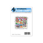 Art Impressions - Windows to the World Collection - Clear Photopolymer Stamp Set - Autumn