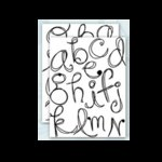 Autumn Leaves - Clear Stamps by Rhonna Farrer - Scribbles Alphabet