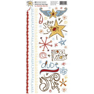 Autumn Leaves - Rub Ons - Superstar by Rhonna Farrer, CLEARANCE