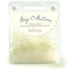 Autumn Leaves - Bag O Buttons - Clear - 6 ounces, CLEARANCE
