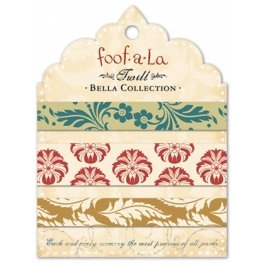 Autumn Leaves - Foofla - Bella Collection - Twill Card, CLEARANCE