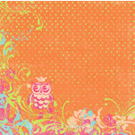 Autumn Leaves - French Twist Collection by Rhonna Farrer - Patterned Paper -Petite Hibou, BRAND NEW