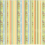 Autumn Leaves - Foofala - Indian Summer Collection - Paper - Autumn Stripe, CLEARANCE