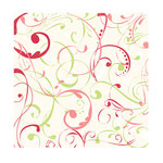 Autumn Leaves - A Rhonna Christmas Collection by Rhonna Farrer - 12x12 Glitter Paper - Glittery Swirl, BRAND NEW