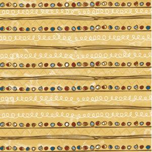 Autumn Leaves - Paper - Superstar by Rhonna Farrer - Super Stripe, CLEARANCE