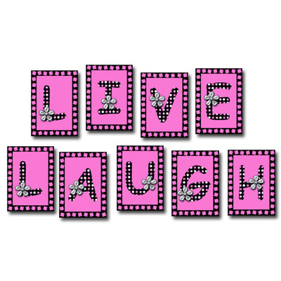 Digital Alphabet (Download)  - Live Love Laugh Smile