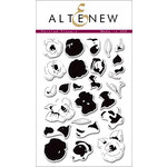 Altenew - Clear Acrylic Stamps - Painted Flowers