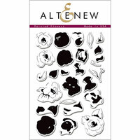 Altenew - Clear Photopolymer Stamps - Painted Flowers