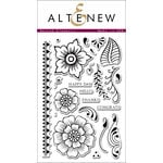 Altenew - Clear Acrylic Stamps - Hennah Elements