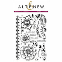 Altenew - Clear Photopolymer Stamps - Hennah Elements