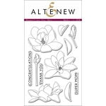 Altenew - Clear Acrylic Stamps - Magnolias For Her