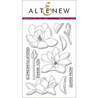 Altenew - Clear Photopolymer Stamps - Magnolias For Her
