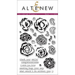 Altenew - Clear Acrylic Stamps - Scribbled Flowers