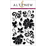 Altenew - Clear Acrylic Stamps - Lacy Scrolls