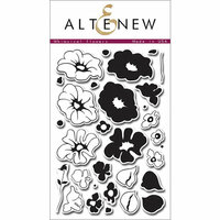 Altenew - Clear Photopolymer Stamps - Whimsical Flowers