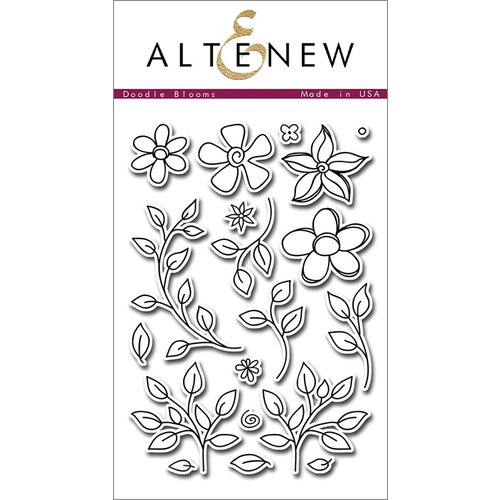 Altenew - Clear Photopolymer Stamps - Doodle Blooms