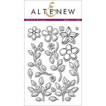 Altenew - Clear Acrylic Stamps - Doodle Blooms