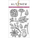 Altenew - Clear Acrylic Stamps - Striped Florals