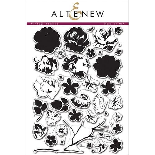 Altenew Vintage Flowersstamp