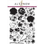 Altenew - Clear Acrylic Stamps - Vintage Flowers
