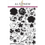 Altenew - Clear Photopolymer Stamps - Vintage Flowers