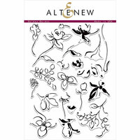 Altenew - Clear Photopolymer Stamps - Golden Garden