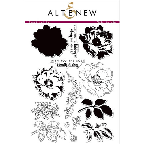 Altenew - Clear Photopolymer Stamps - Beautiful Day