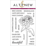 Altenew - Clear Acrylic Stamps - Beautiful Lady