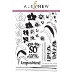 Altenew - Clear Acrylic Stamps - Oriental Orchid