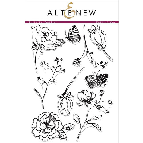 Altenew - Clear Photopolymer Stamps - Botanical Garden