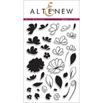 Altenew - Clear Acrylic Stamps - Mini Blossoms