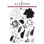 Altenew - Clear Acrylic Stamps - Peony Bouquet