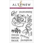 Altenew - Clear Acrylic Stamps - Penned Rose