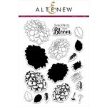 Altenew - Clear Acrylic Stamps - Dahlia Blossoms