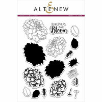 Altenew - Clear Photopolymer Stamps - Dahlia Blossoms
