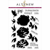 Altenew - Clear Photopolymer Stamps - Painted Rose