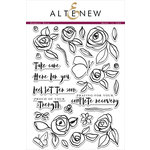 Altenew - Clear Acrylic Stamps - Bamboo Rose